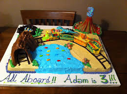 Dinosaur Train Birthday Cake Kids Train Birthday Party Cake