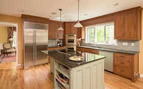 Kitchen Beaded Kitchen Cabinets Light Cherry Wood Cabinets Modern