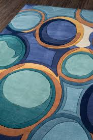 momeni new wave collection nw133 blue area rug