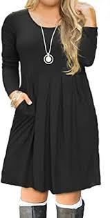 FOLUNSI Women's Plus Size <b>Casual</b> Long Sleeve <b>Pleated</b> T Shirt ...