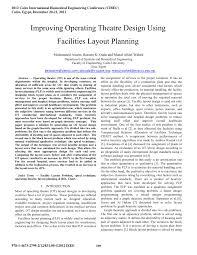Operating Theatre Design Guidelines Pdf Improving Operating Theatre Design Using Facilities