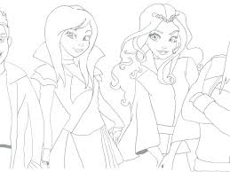 Descendants Colouring Pages Evie Descendants Coloring Pages Creative