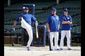 One of the purposes of entrance music, after all, is to strike fear in the hearts of your opponent. The Cubs Playoff Roster Ranked According To Walk Up Songs Chicago Tribune