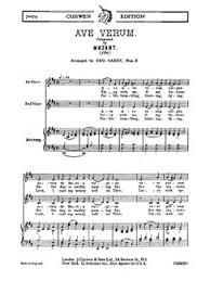 ave verum corpus sheet music mozart ave verum 2 part and piano piano accompaniment sheet