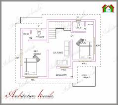 1000 sq ft floor plans elegant kerala small home plans new 1000 sq ft house plans