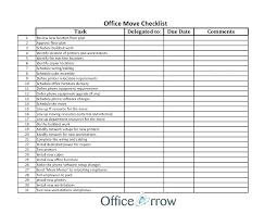 Moving Home Checklist Excel Timeline Template Office 5 Contract
