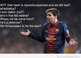 Messi Quotes Custom Some Words Quotes From Messi