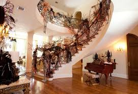 Amazing Creative Halloween Decorating Ideas For Inside The Home Halloween  Haunted House Decor Best Hallowen Decoration For Staircase