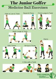 Junior Golf Fitness Golf Exercises Training Workout
