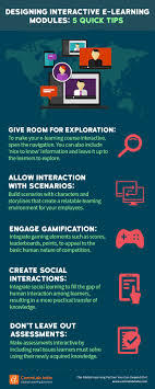 Designing Learning Activities Designing Interactive E Learning Modules 5 Quick Tips