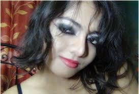 gothic eye makeup final look