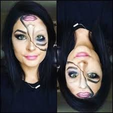 wele home catwoman makeup