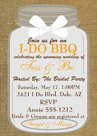 Barbeque Invitation Bridal Shower Invitations Engagement Party I Do Bbq Couples Shower