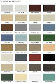 Rain Gutter Colors By Rain Gutter Services Mendocino
