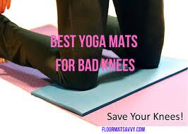 best yoga mats for bad knees 2020