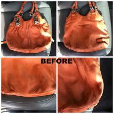 leather purse makover