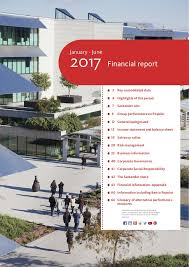 January - June 2017 Financial report 3 Key consolidated data 4 Highlights  of the period 7