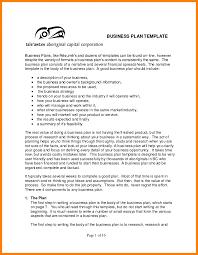 Business Plan Professional Narrative Resume Plain Template Eye