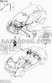 Exterior car parts diagram 116 wiring harness m16a lhd sx4 m16a akk416 suzuki of exterior car