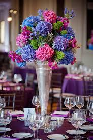 Purple And Blue Wedding Centerpiece Ideas Ipunya