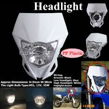 Enduro Lights Details About White Headlight Head Lamp Light Streetfighter For Ktm Dirt Bike Motocross Enduro