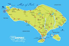 bali maps  empiric spiritual travelling