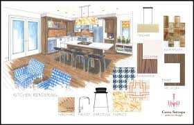 interior design kitchen drawings. Brilliant Interior Highbanks Kitchen Perspective On Interior Design Kitchen Drawings I