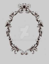 oval frame tattoo design. Filigree Frame II By KrisHanson Oval Tattoo Design E