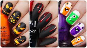 Halloween Nail Designs 2019 20 Easy Halloween Nail Art Designs For Short Nails