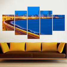 mumbai tourist places custom prints framed canvas paintings modular wall pictures for living room bedroom home