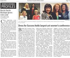 news dress for success sw florida check out this article from the first e p conference that dress for success sw florida held