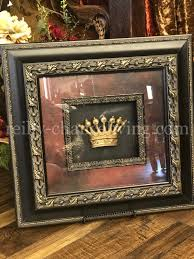 Home decor bedroom home cheap home decor bohemian bedroom decor house interior apartment bedroom decor home bedroom home my top 10 thrift store shopping tips: Jeweled Crown Framed Art Imperial Reilly Chance Collection