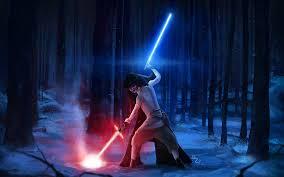 star wars the force awakens kylo ren versus rey wallpapers 4000x2500