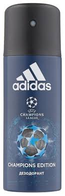 <b>Дезодорант спрей Adidas UEFA</b> 4 <b>Champions</b> Edition — купить по ...