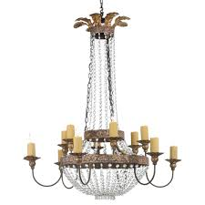 Iron & Crystal Chandelier from Niermann Weeks - Traditional Chandeliers -  Dering Hall