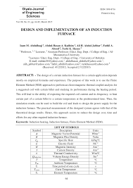 Furnace Design Calculation Pdf Pdf Design And Implementation Of An Induction Furnace