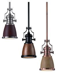 elk 66712 1 chadwick 8 inch diameter mini pendant lighting fixture with shade options loading zoom