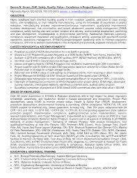 Occupational Health And Safety Resume Sample Occupational Health And Safety Resume Examples For Study 1