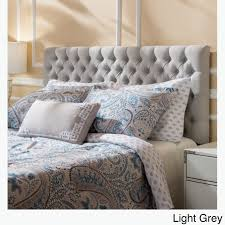 gray full headboard. Perfect Headboard Shop Jezebel Adjustable Full Queen Button Tufted Headboard By Christopher  Knight Home  Free Shipping Today Overstockcom 8614388 In Gray Full