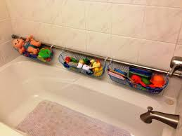 Bathroom Toys Storage Make It Clean With Bath Tub Toy Holder For Kids Options Are Many