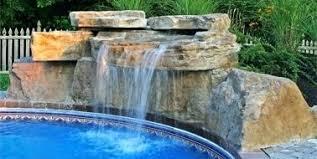 inground pool waterfalls. Pool Waterfall Ideas Fresh Waterfalls Exquisite Swimming Kits Inground I
