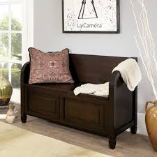 Storage Benches For Living Room Simpli Home Connaught Dark Chestnut Brown Storage Bench 3axccon 09