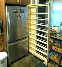 fridge e rack rolling e rack next to fridge refrigerator rolling e rack next to fridge fridge e rack rolling