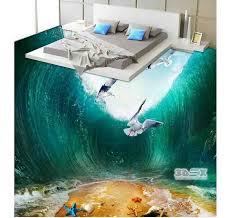 3Dex Art 3D Flooring Design Epoxy Floor Coating For Bathroom Bedroom Kitchen