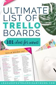 Home Maintenance Tracker Ultimate List Of Trello Boards To Organize Your Life