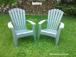 paint for plastic outdoor furniture tutorial for spray painted plastic lawn chairs with a tip for