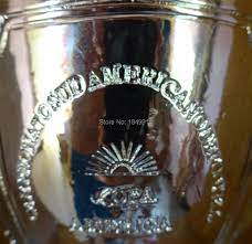 โคปาอเมริกา2015แชมป์ถ้วยถ้วยรางวัลรางวัลเรซิ่นแบบจำลอง1:1จริงขนาด|cup  trophy|copa america replicatrophy replicas - AliExpress