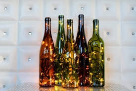 Making Wine Bottle Lights 25 Unique Ways To Decorate With String Lights