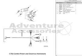 hummer h am general parts drawings 99 cti control electrical harness