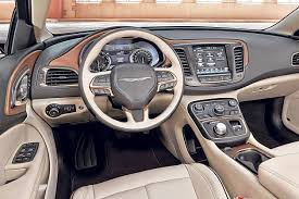 chrysler 200 2015 interior. owners of the 300c can choose a premium mocha leather interior to go along with heated and ventilated front seats thereu0027s also option chrysler 200 2015 i